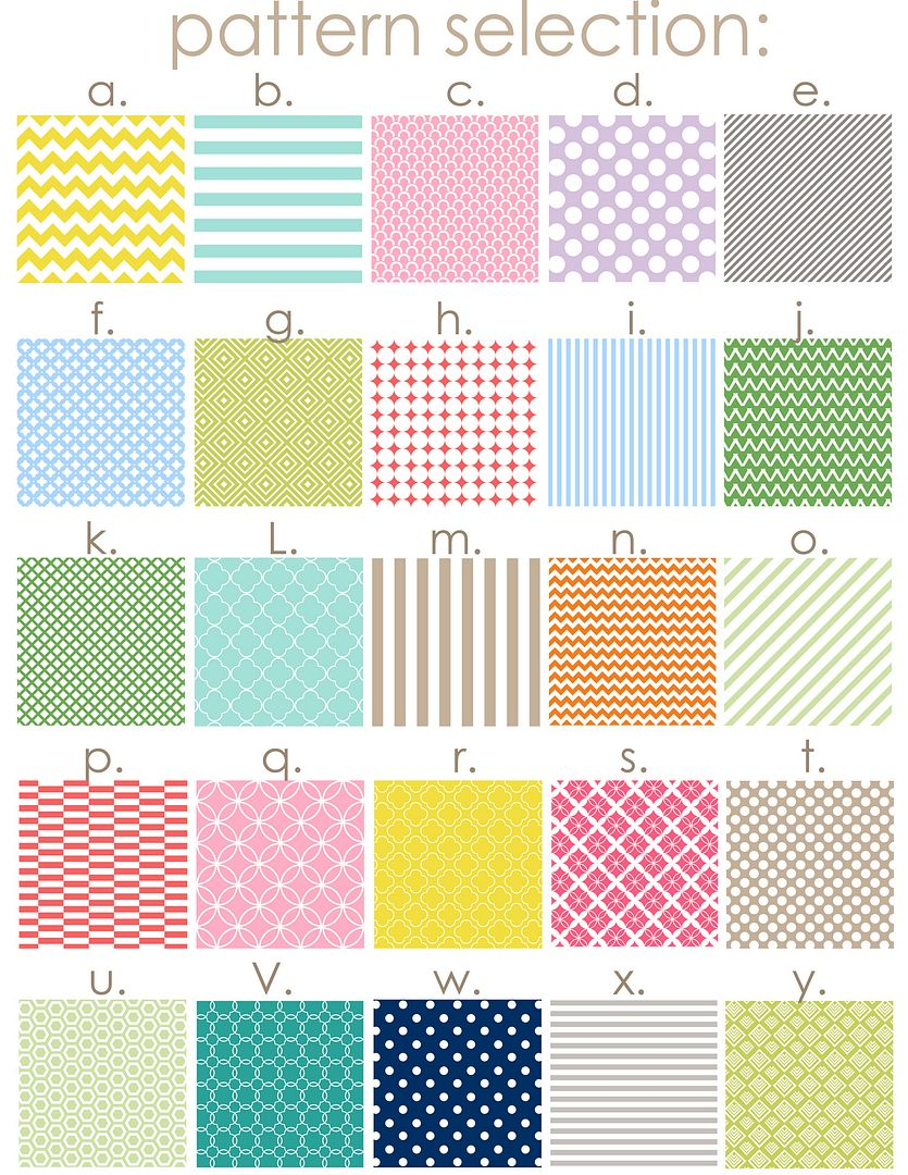 New Patterns for my Printables!