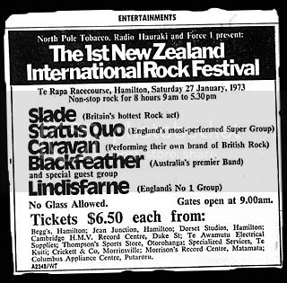 Te Rapa ad large, Hamilton Times Tuesday 23rd January 1973