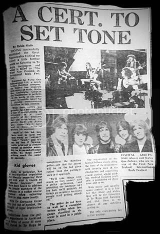 Te Rapo ann Sydney large, Sunday Herald -Sun 21st January 1973
