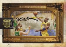09/10 Panini Court Kings Kobe Bryant Il Bello Cinque