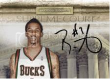 09/10 Panini Court Kings Brandon Jennings Supreme Auto
